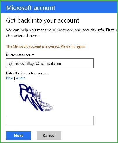 Microsoft-account-email-address-verification
