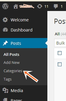 wordpress-categories-under-posts
