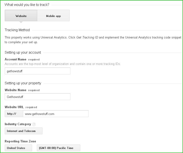 Google-analytics-account-setup