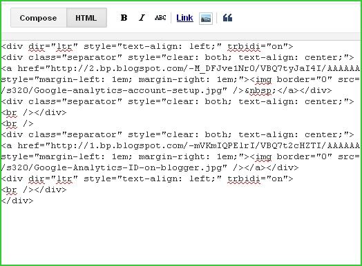 HTML-code-blogger-post