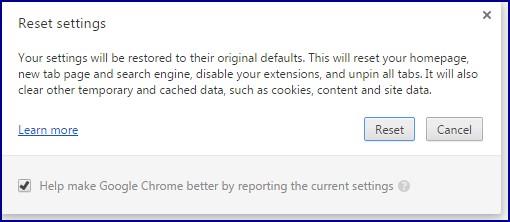 Google-crome-reset-settings-message