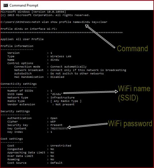 Windows-command-to-get-WiFi-password
