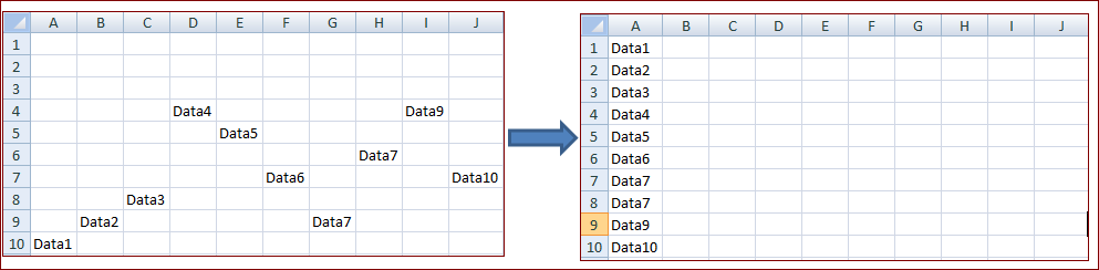 combine-multiple-columns-data-to-single-column-excel-vba